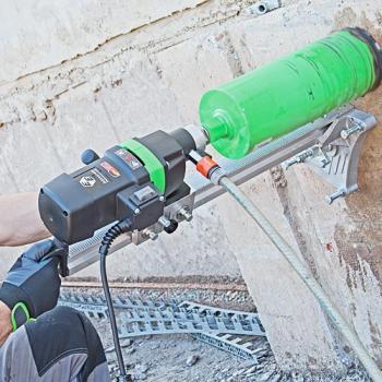 Установка алмазного сверленияEibenstockDB 200 с функцией наклона и баком для подачи воды - slide4