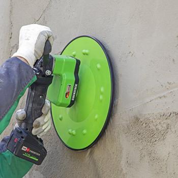 Аккумуляторная машина для разглаживания штукатурки с подачей водыEibenstockEPG 400 A - slide5